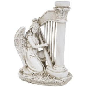Harppua soittava enkeli (34 cm)