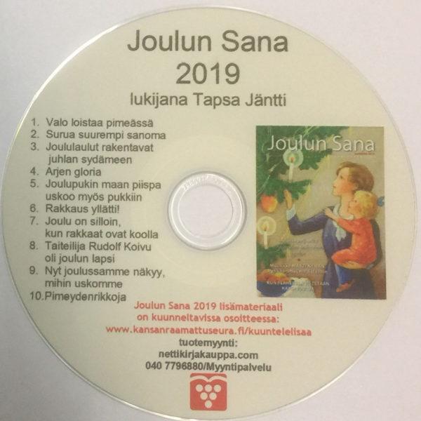 Joulun Sana 2019 -joululehti CD