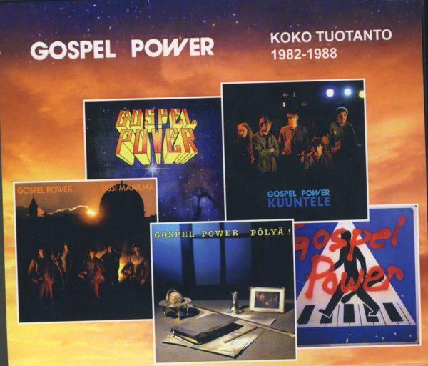 Gospel Power koko tuotanto 1982-1988 CD
