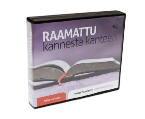 Raamattu kannesta kanteen MP3-muodossa - Vanha Testamentti 9CD