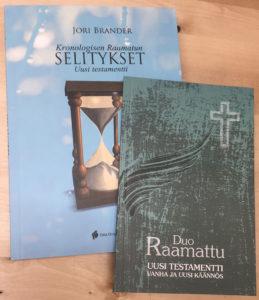 DuoRaamattu UT + Kronogisen Raamatun UT selitykset