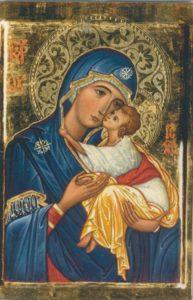 Magneetti: Maria ja Jeesus-ikoni