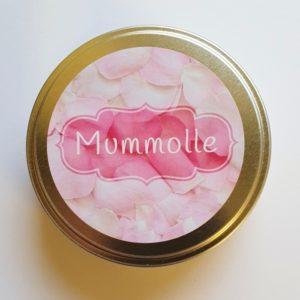 Mannakortit peltirasiassa - Mummolle