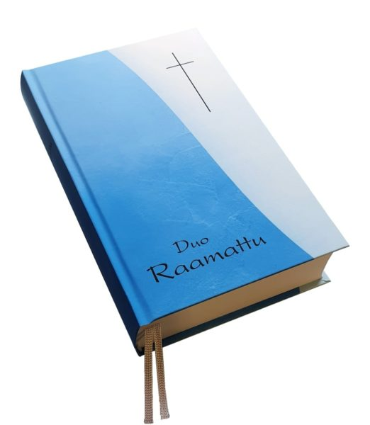 Duo Raamattu, sininen