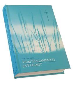 Uusi Testamentti ja Psalmit, sininen (isotekstinen)