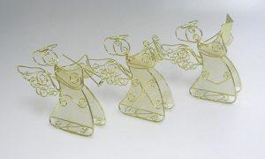 Soittavat kultalanka - enkelipaketti (sis. 3 enkeliä)