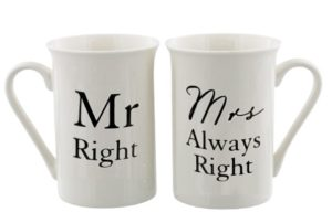 Tekstimukipari Mr. Right/Mrs. Always Right