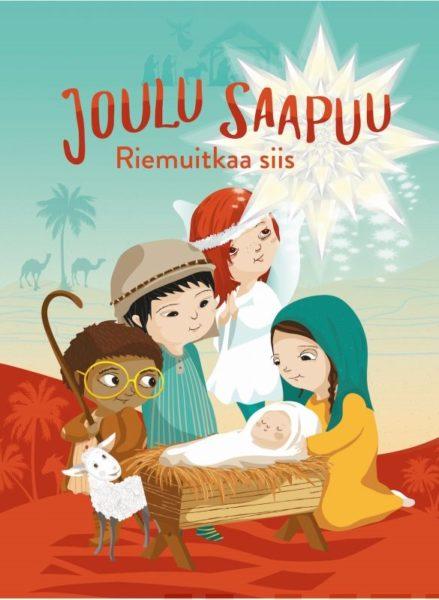 Joulu saapuu Riemuitkaa siis - tarrakirja