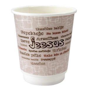 Jeesus - kertakäyttömukipaketti (sis. 23 mukia)
