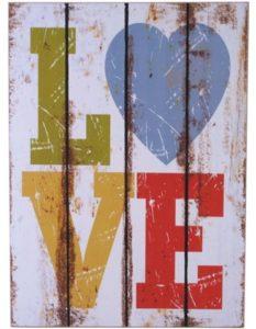Love - seinätaulu