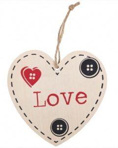 Love - seinäkyltti