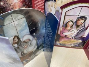 Immosen jouluevankeliumikorttI-paketti (8 kpl, ruotsinkielinen)