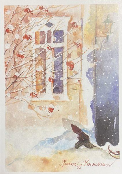 Joulukortti: Ikkuna