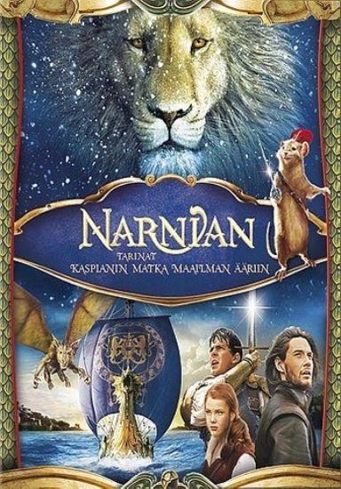 Narnia - Kaspianin matka maailman ääriin - blu-ray