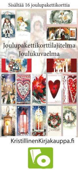 Joulupakettikorttilajitelma: Joulukuvaelma (sis. 16 korttia)