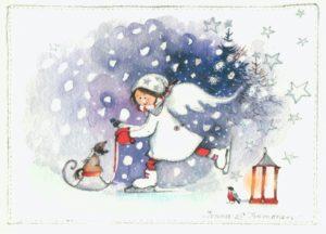 Kortti: Hauskaa matkaa (sopii myös joulukortiksi)