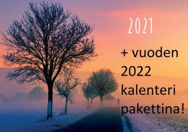 Seinäkalenteripaketti raamatunjakeilla 2021 + 2022