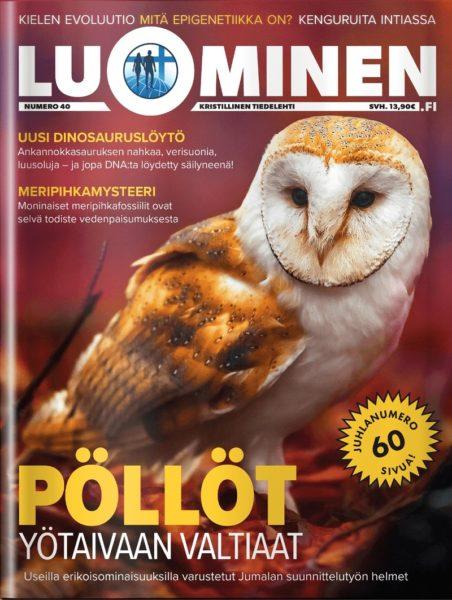 Luominen-lehti numero 40