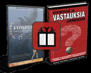 Kysymyksiä ja vastauksia luomisesta + Evoluution Akilleen kantapäät DVD