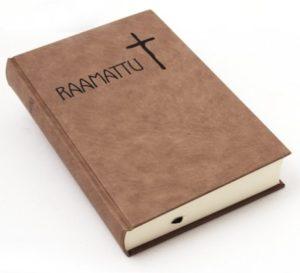 Isotekstinen Raamattu, beige