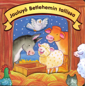 Jouluyö Betlehemin tallissa