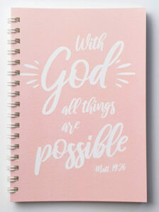 Kierrevihko - With God all things are possible, roosa