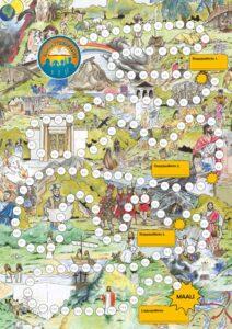 Raamattumaraton - kartta