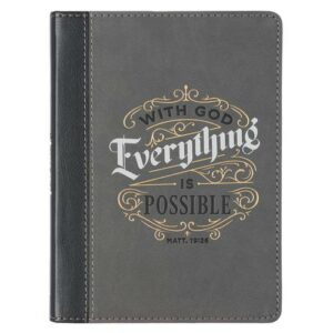 With God Everything is Possible - muistikirja