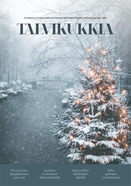Talvikukkia 2021 - joululehti